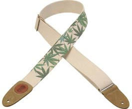 Hemp Guitar Strap (greenLeaf)