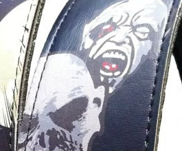 Hot Picks Zombie Guitar Strap1 close up