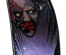 Hot Picks Zombie Guitar Strap2 close up