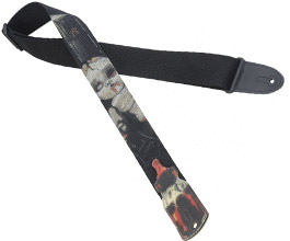 Levys Zombie Baby Guitar Strap