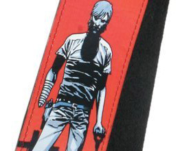 Walking Dead Grave Digger Guitar Strap close up