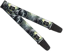 Walking Dead Zombies Guitar Strap