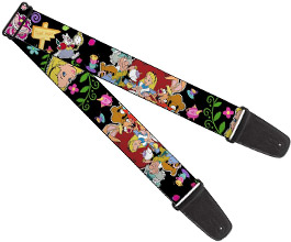 Guitar Strap 15, Alice in Wonderland