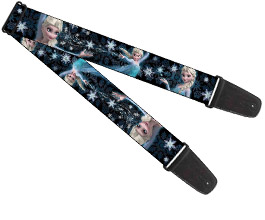 Frozen Guitar Strap 05
