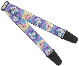 Frozen Guitar Strap 07