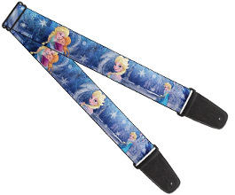 Frozen Guitar Strap 11