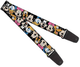 Mickey Mouse Guitar Strap 6
