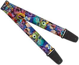 Guitar Strap 16, Monsters Inc