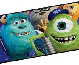 Guitar Strap 16, Monsters Inc, close up