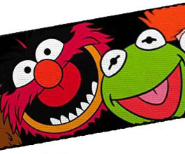 Guitar Strap 17, Muppets, close up