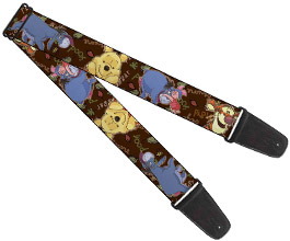 Guitar Strap 10, Winnie the Pooh