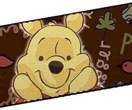 Guitar Strap 10, Winnie the Pooh, close up
