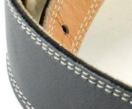 Sheepskin Guitar Strap 1 by Pete Schmidt close up
