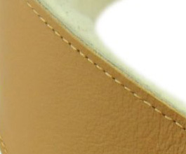 Sheepskin Guitar Strap 4 by Perris Leathers close up