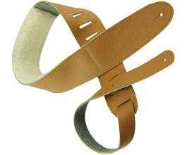 Sheepskin Guitar Strap 4 by Perris Leathers