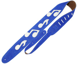 Music Notes Guitar Strap no.8