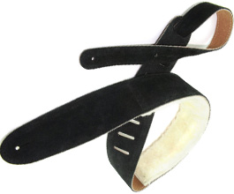 Sheepskin Guitar Strap 11 by Perris Leathers