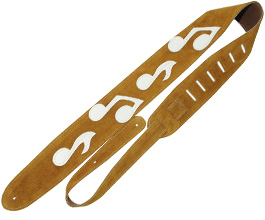 Music Notes Guitar Strap no.11