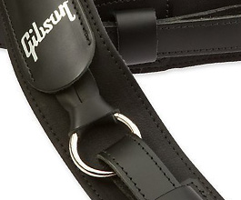 Slingshot Gibson Guitar Strap close-up