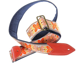 Denim Guitar Strap 3 by Jodi Head