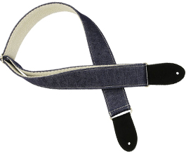 Denim Guitar Strap 5 by Pete Schmidt