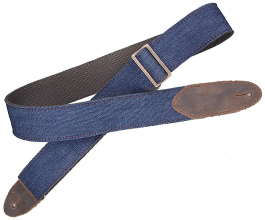 Denim Guitar Strap 9 by LM Products