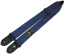 Denim Guitar Strap 15 by Perris Leathers