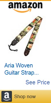 flower guitar strap 09 by Amazon