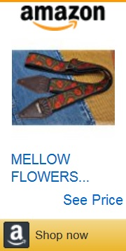 flower guitar strap 11 by Amazon