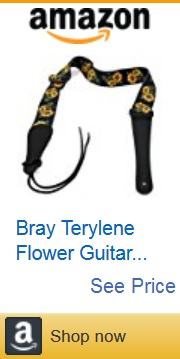 flower guitar strap 15 by Amazon