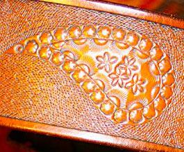paisley guitar strap 03 close up