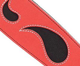 paisley guitar strap 05 close up